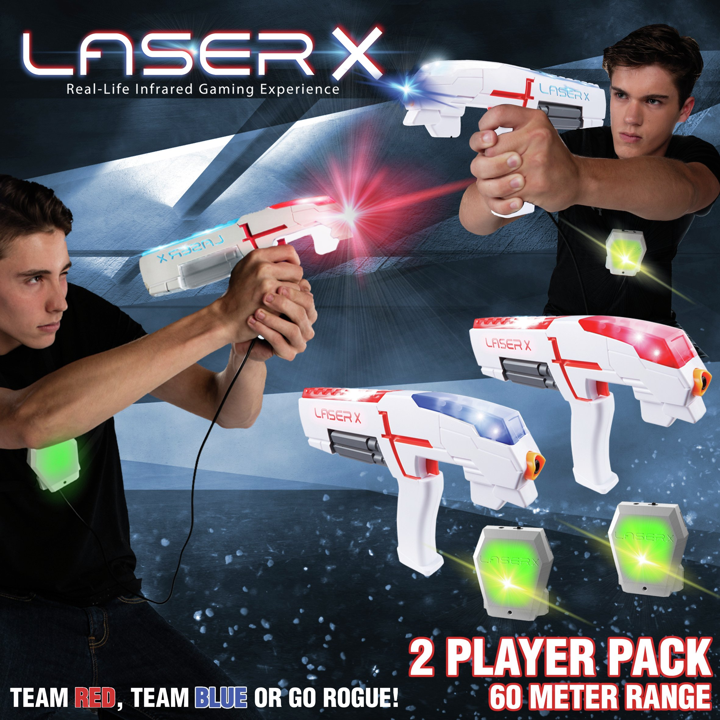 Laser X Laser Gaming Set - 2 Player Pack