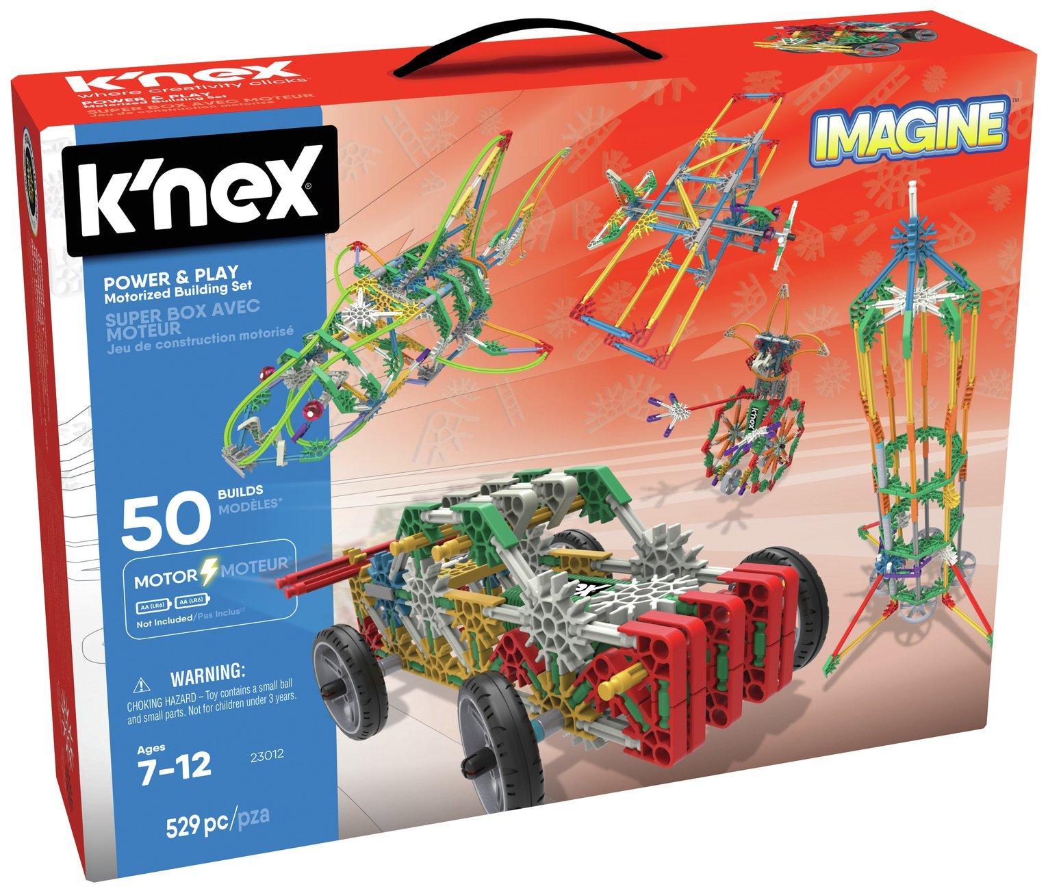 K'NEX Imagine Power and Play 50 Model Motorised Building Set