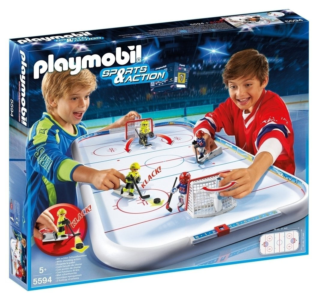 Playmobil 5594 Sports Action Ice Hockey Arena
