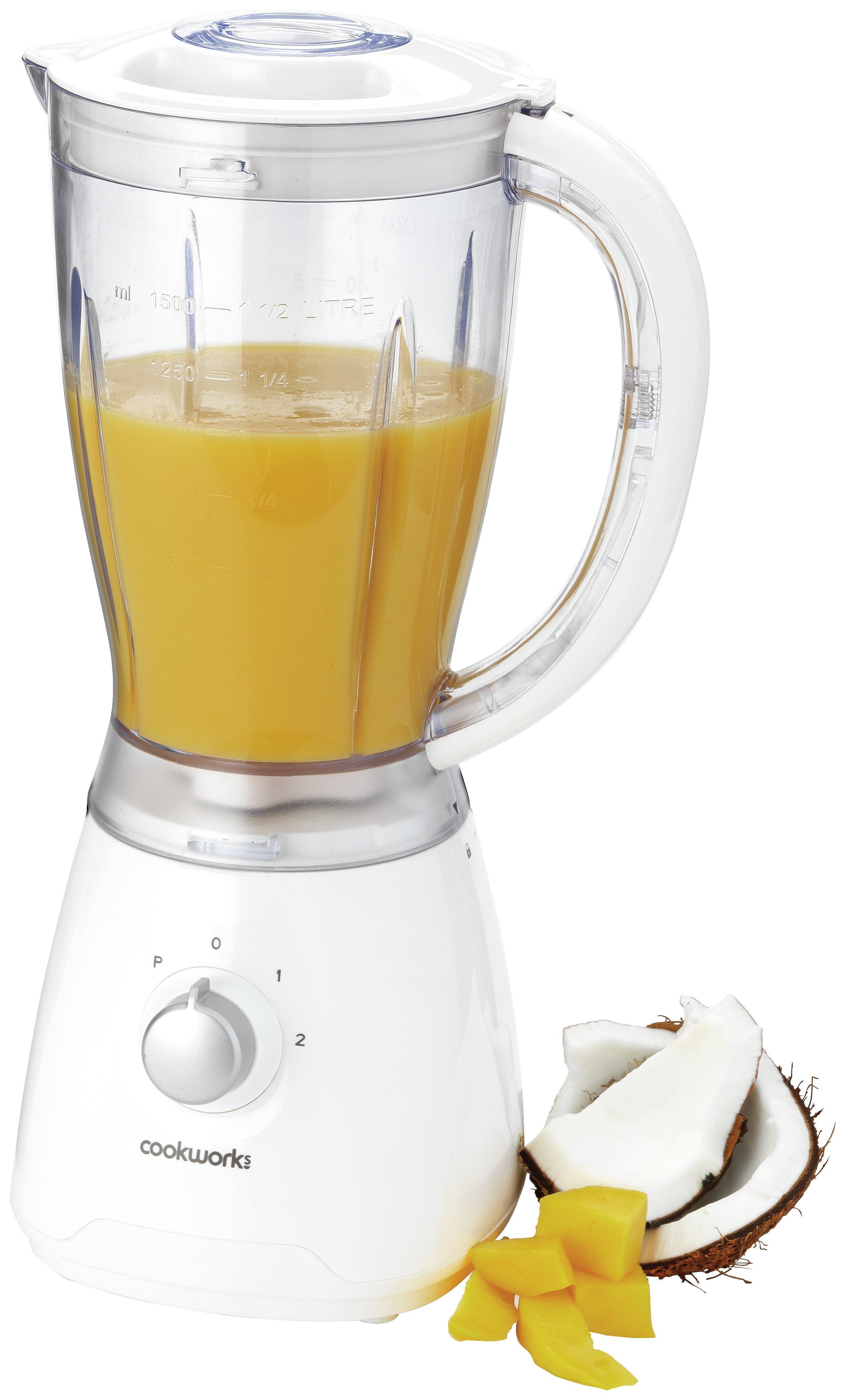 Image of Cookworks 1.5L Blender - White