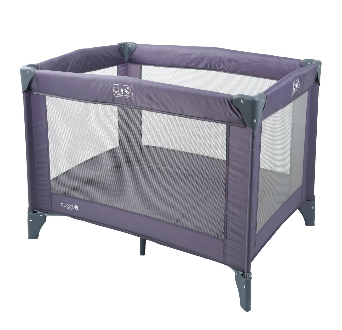 Image of Cuggl Grey Travelcot