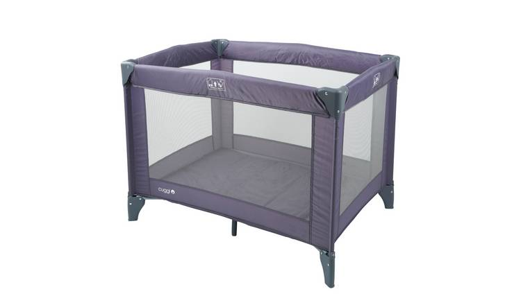 Cuggl Grey Travel Cot
