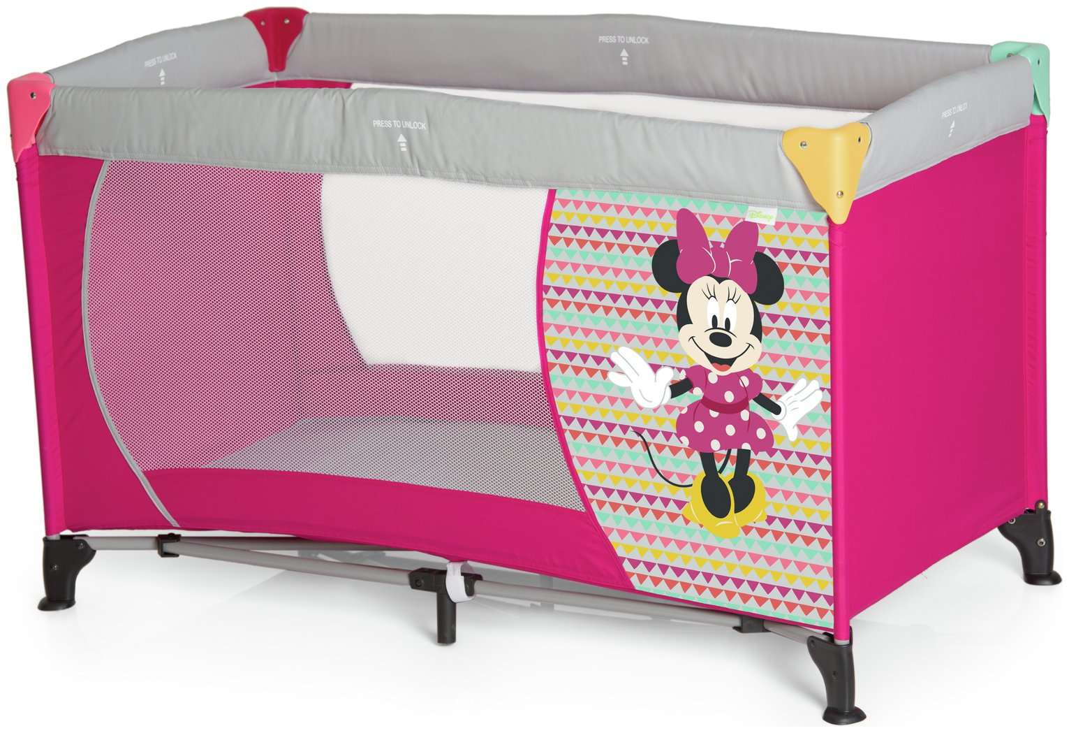 Image of Disney Baby Dream 'n Play Minnie Mouse Travel Cot