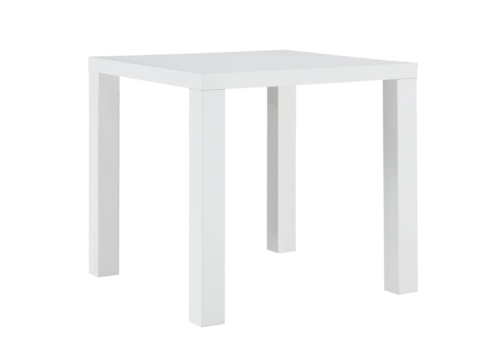 Hygena Lyssa 2 Seater Dining Table - White Gloss