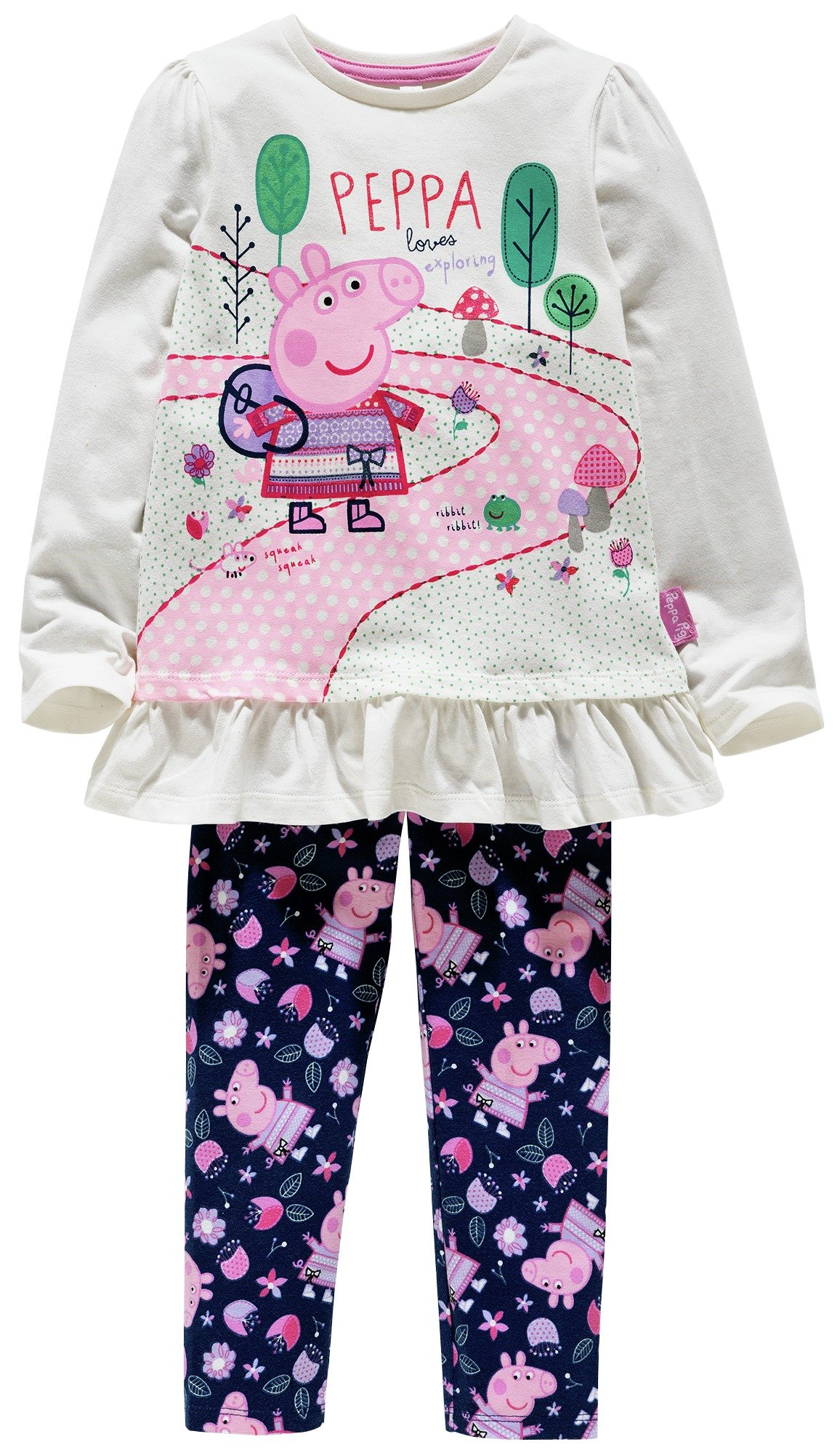 Image of Peppa Pig Top & Leggings Set - 3-4 Years