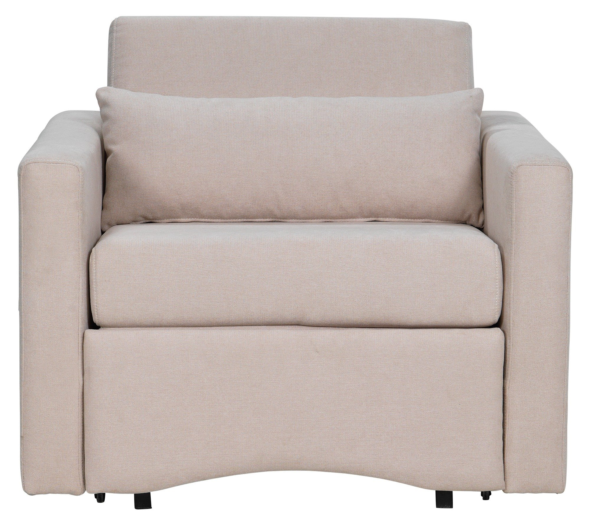 Argos Home Reagan Fabric Chairbed - Natural