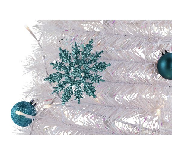 argos home 6ft pop up christmas tree white - 6ft White Christmas Tree