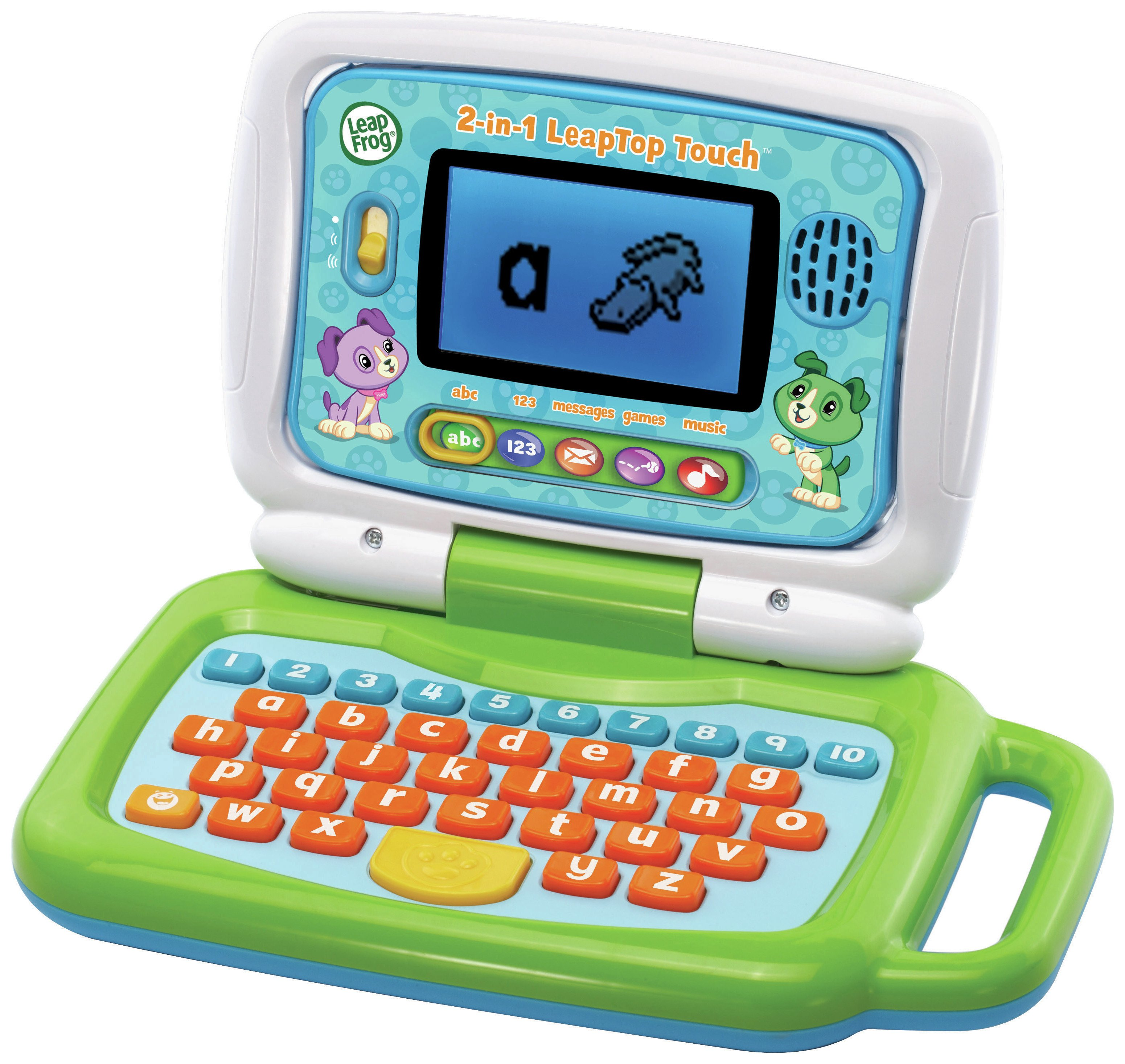 Image of LeapFrog 2 in 1 Laptop Touch - Green