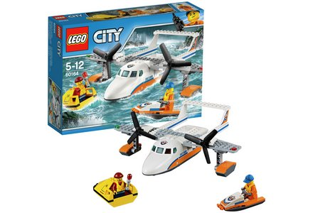 LEGO City Sea Rescue Plane - 60164.