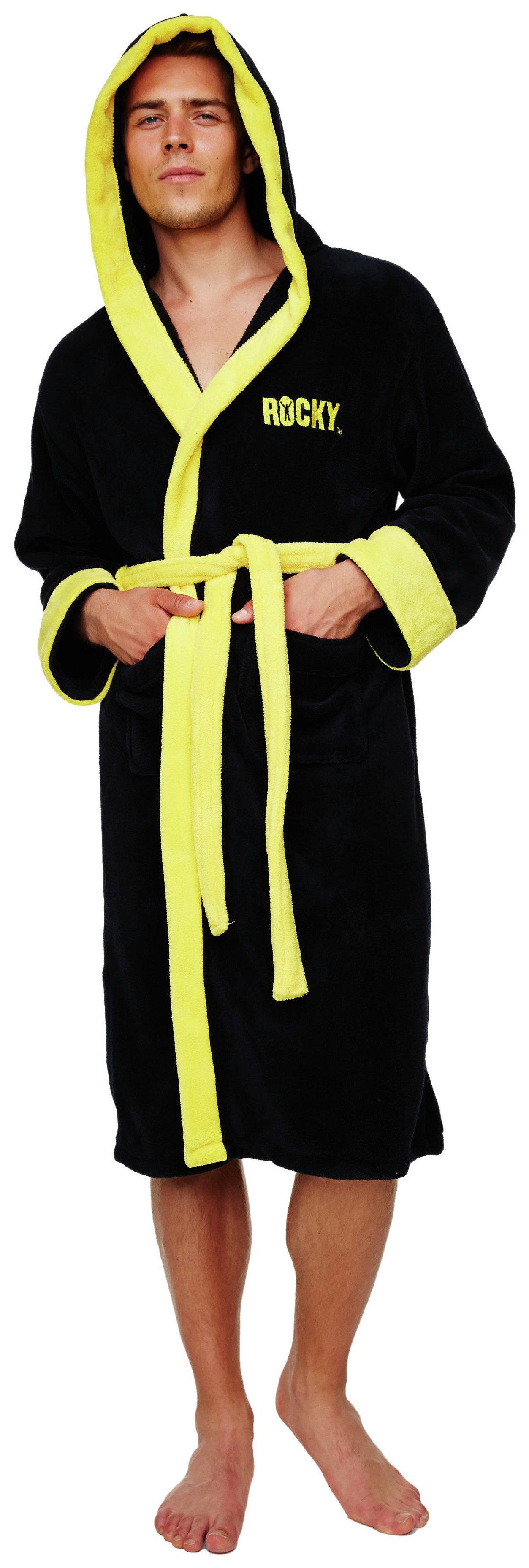 rocky robe - Mens Bathrobes