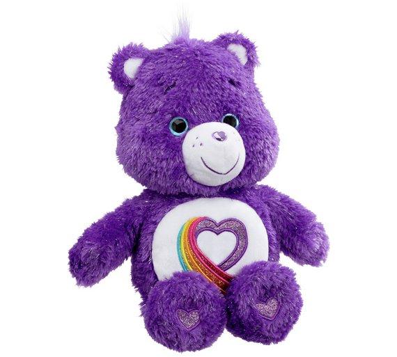 Buy Care Bears Rainbow Heart 35th Anniversary Bear at Argoscouk
