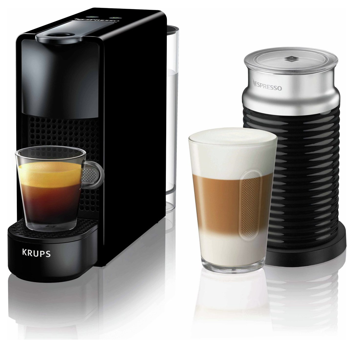 Nespresso by Krups Essenza Mini Pod Coffee Bundle