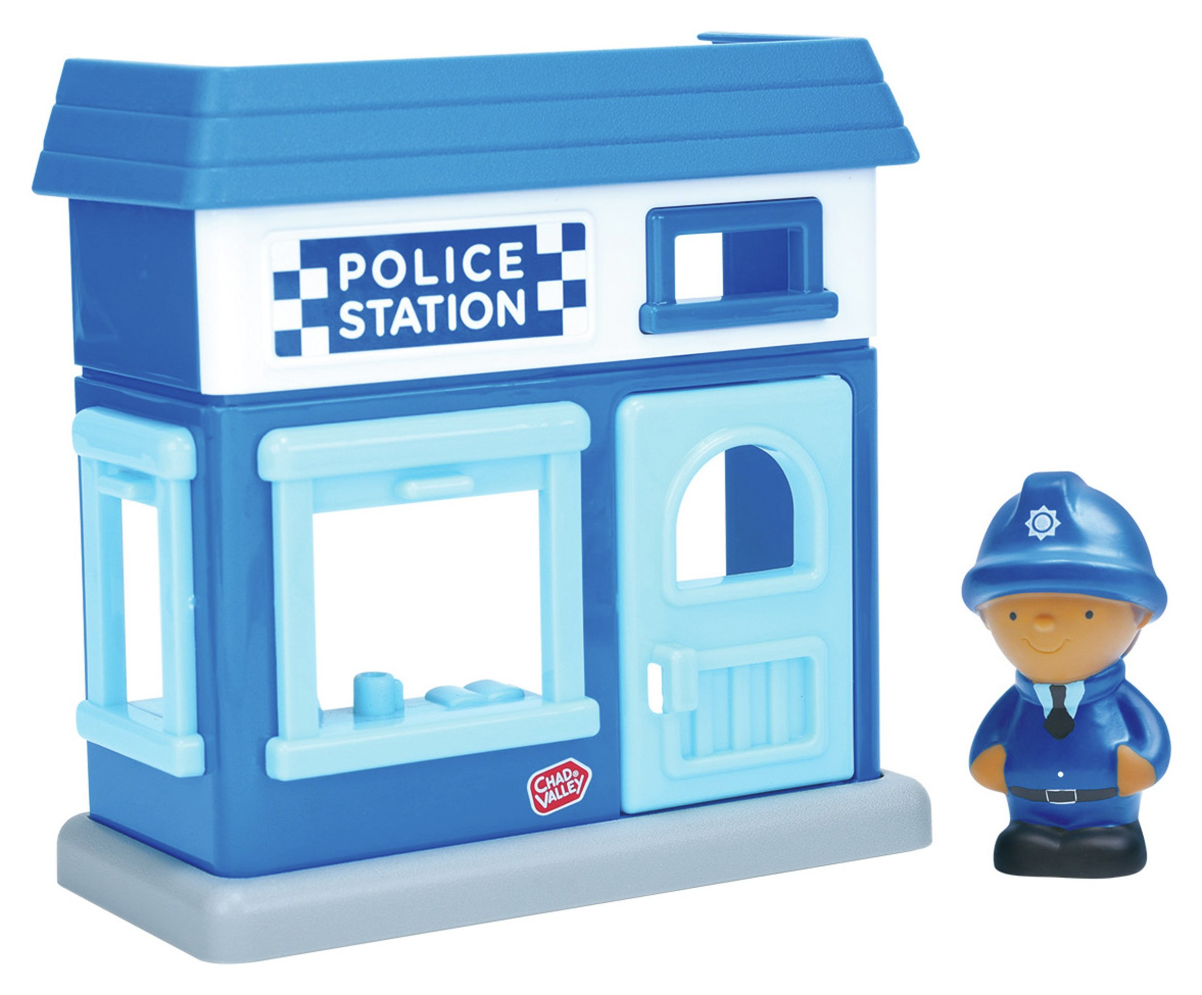 Chad Valley Tots Town Police Station Playset