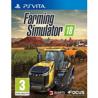Farming Simulator 18 PS Vita Game