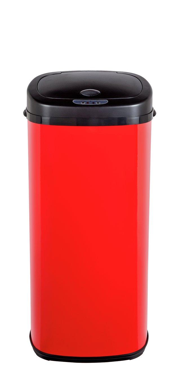 Morphy Richards 50 Litre Sensor Bin - Red
