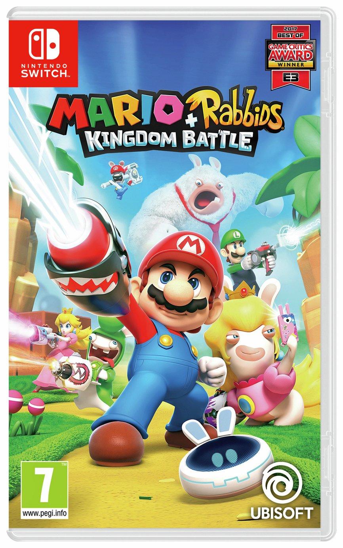 Mario and Rabbids Kingdom Battle Nintendo Switch Game