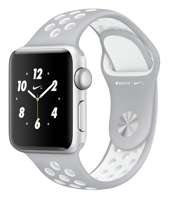 Apple Watch Nike 38mm Silver Alu CaseGrey Sport Band cheapest retail price