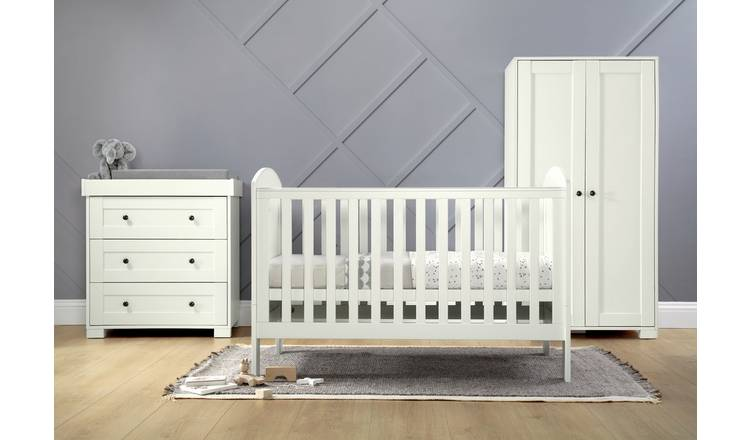 official photos 35620 367e0 Buy Mamas & Papas Harrow 3 Piece Set Furniture Set - White | Nursery  furniture sets | Argos