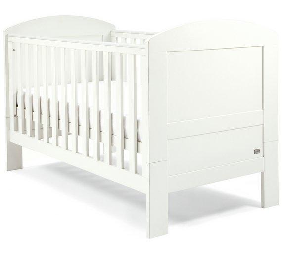 buy mamas papas harrow 3 piece set white nursery. Black Bedroom Furniture Sets. Home Design Ideas