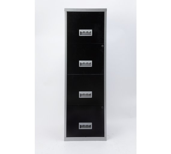 Buy Drawer A Metal Filing Cabinet At Argoscouk Your Online - 4 drawer steel filing cabinet