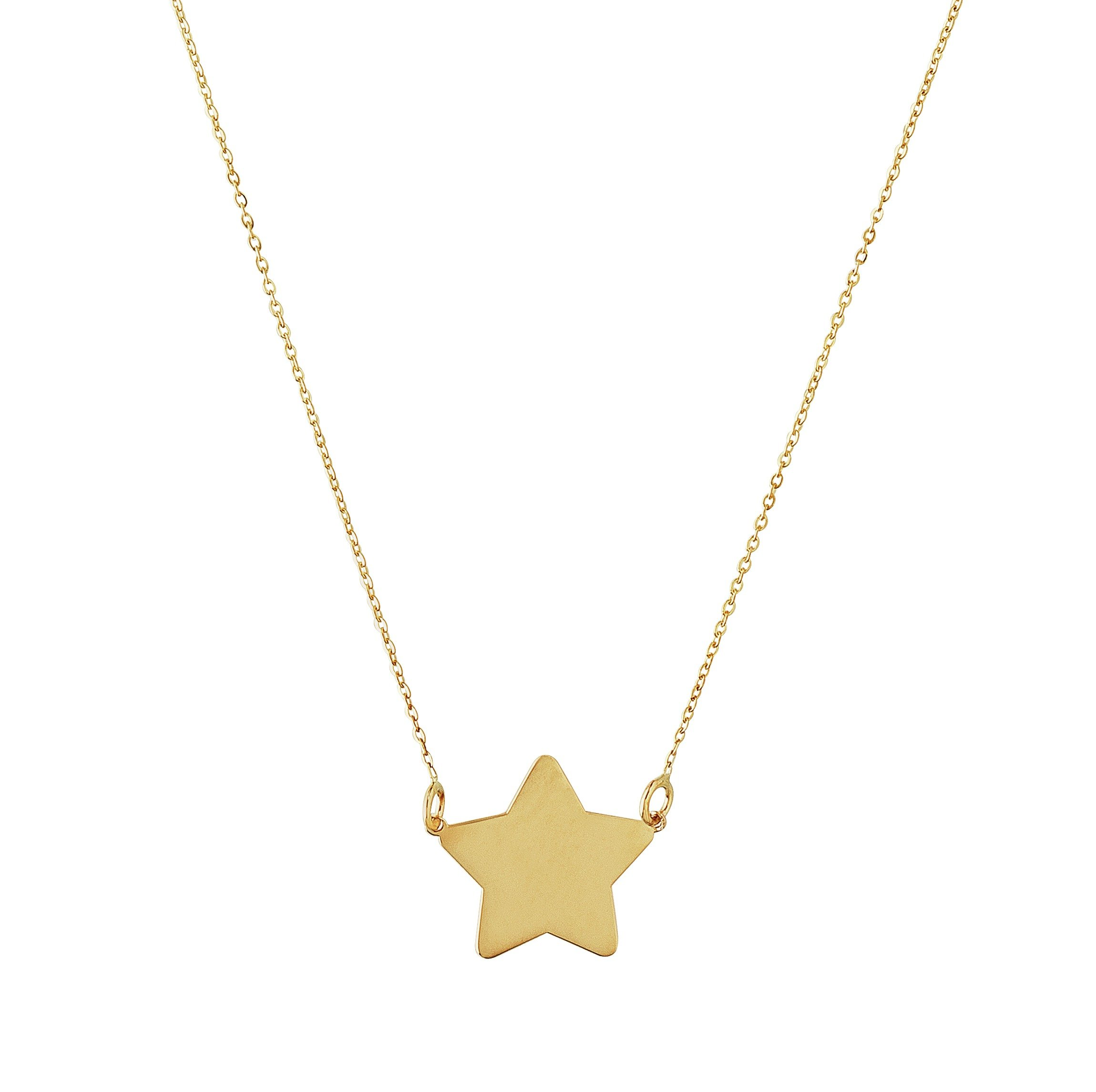 Image of Revere 9ct Gold Star Pendant
