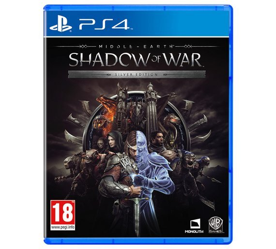 Shadow of War Silver Edition PS4 Game