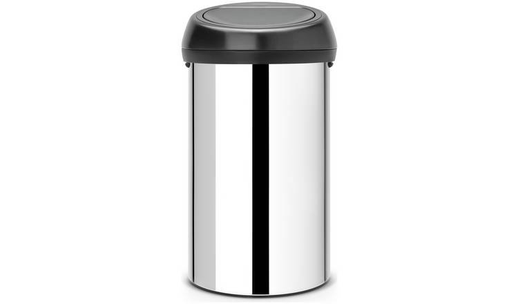 Brabantia 60 Litre Brilliant Steel Touch Bin