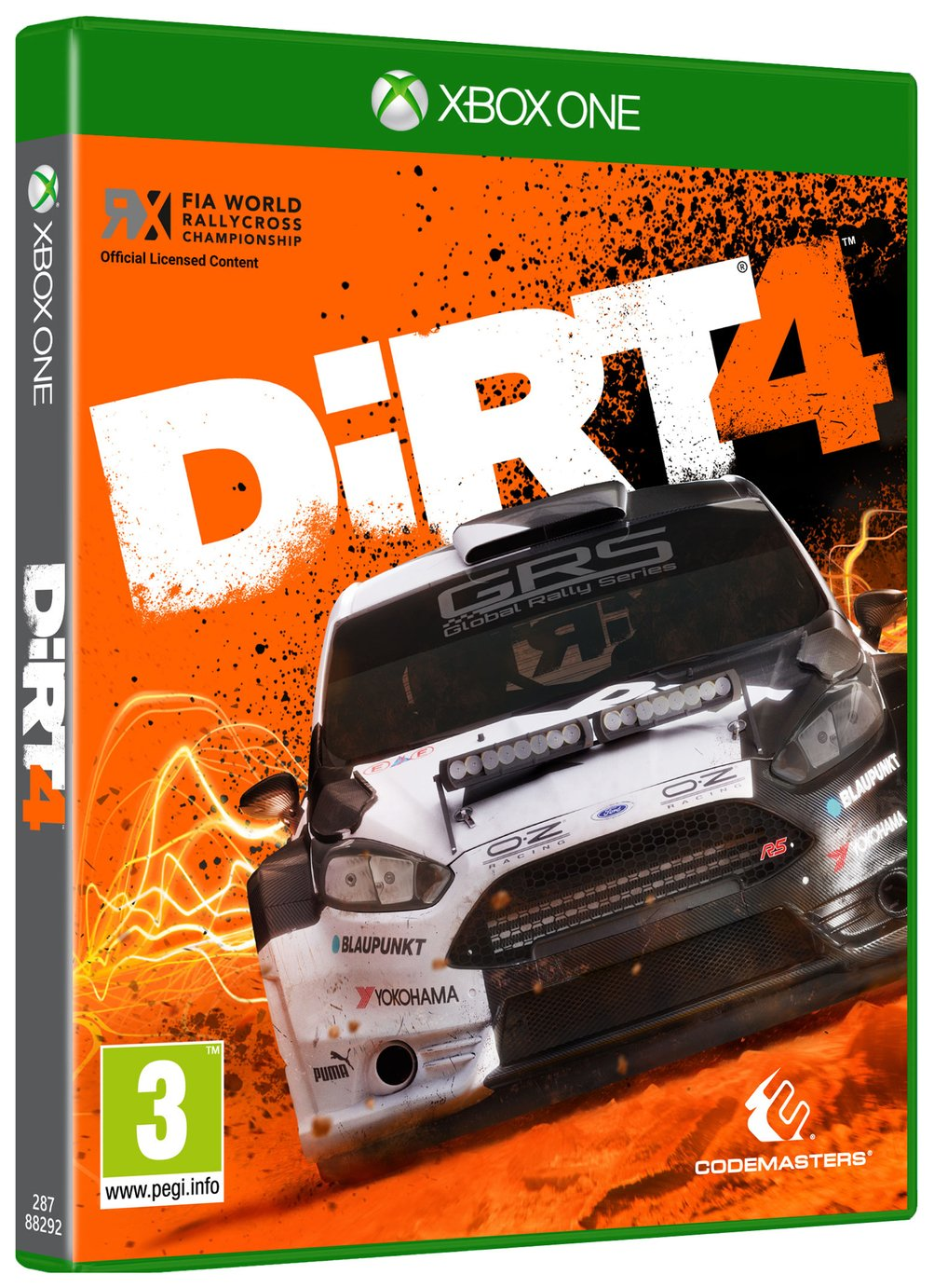 Image of Dirt 4 Xbox One Game