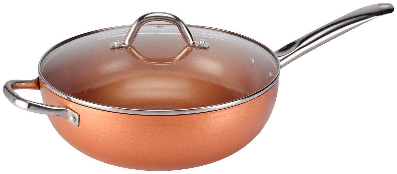Image of Copper Chef 30cm Non-Stick Wok