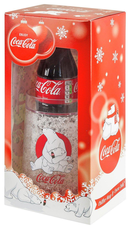 Image of Coca-Cola Chiller Mug and Bottle.
