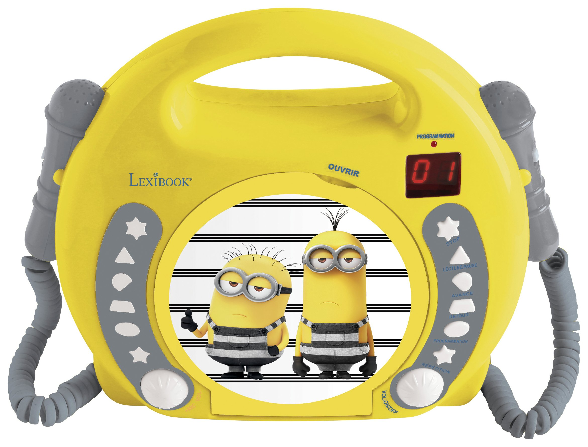 Lexibook Despicable Me Minions CD Player - Red