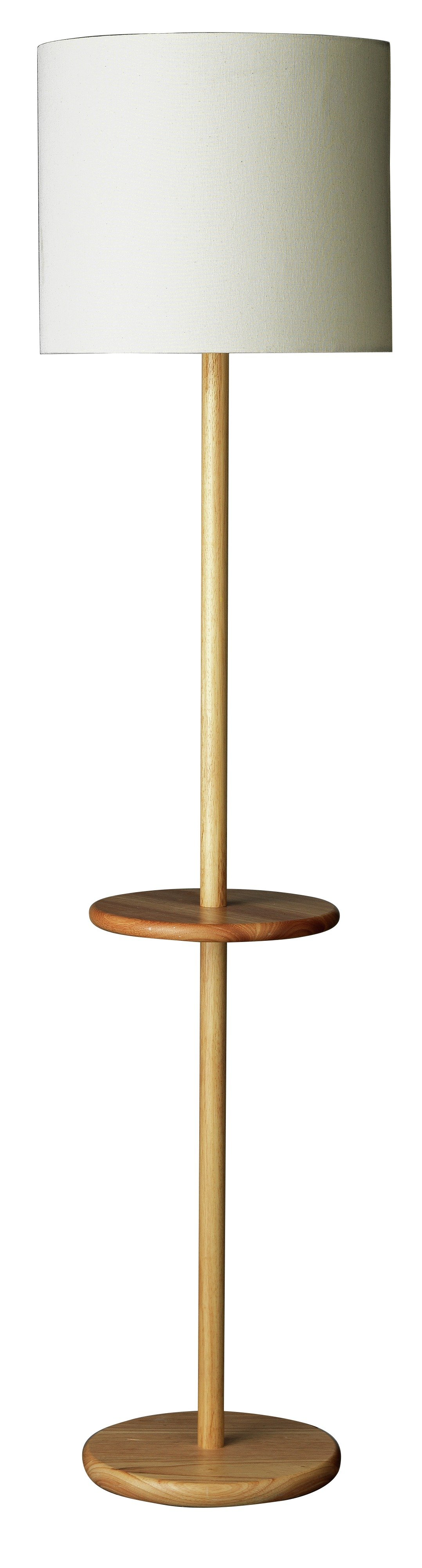 Argos Home Inhabit Wooden Floor Lamp with Table