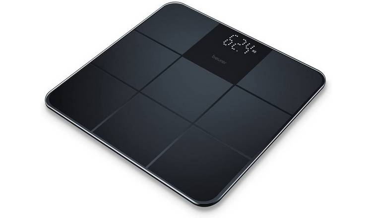 Beurer BS235 Elegant Glass Personal Scale - Black
