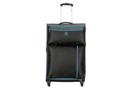 Revelation Weightless Large 4 Wheel Soft Suitcase - Black.