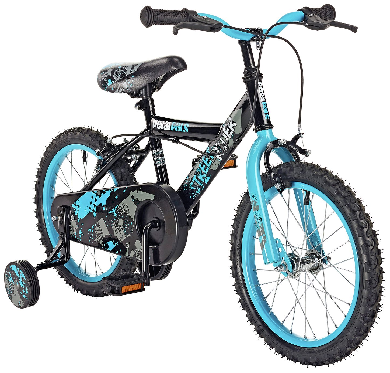 Pedal Pals 16 Inch Street Rider Kids Bike