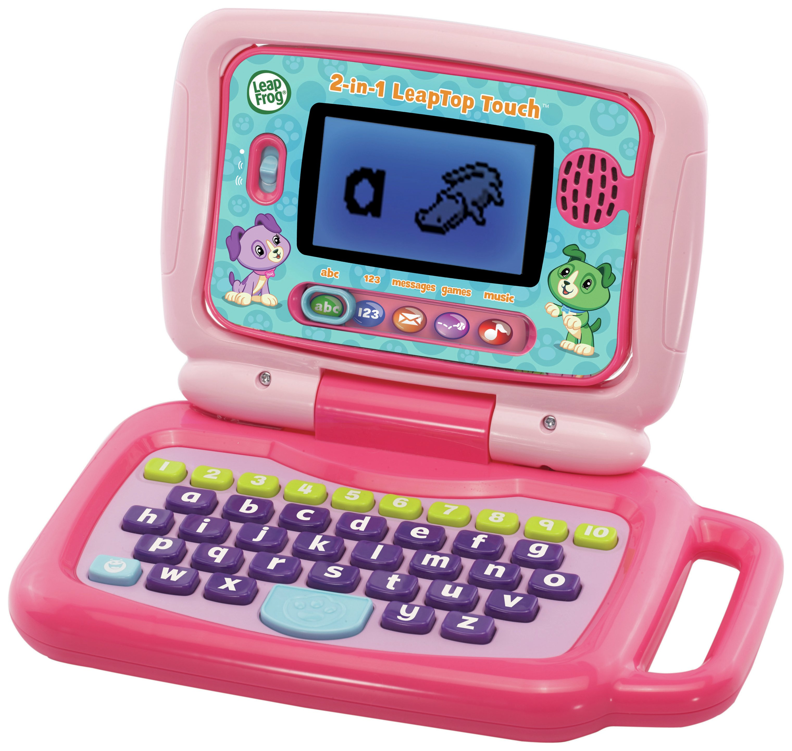 Image of LeapFrog 2 in 1 Laptop Touch - Pink