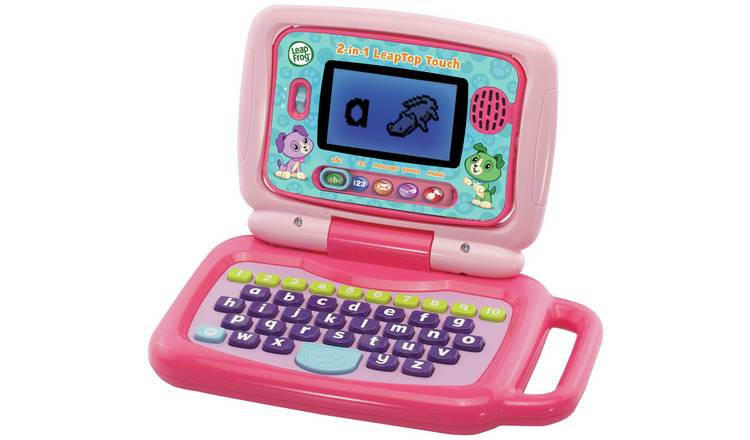 LeapFrog 2 in 1 Laptop Touch - Pink