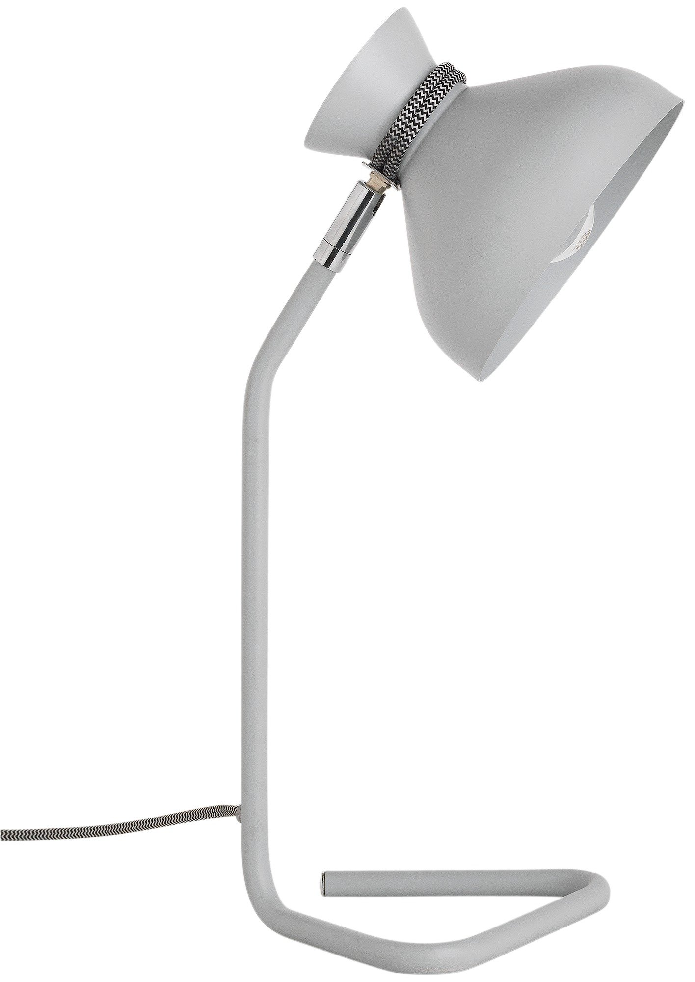 Image of Hygena Pola Table Lamp - Grey