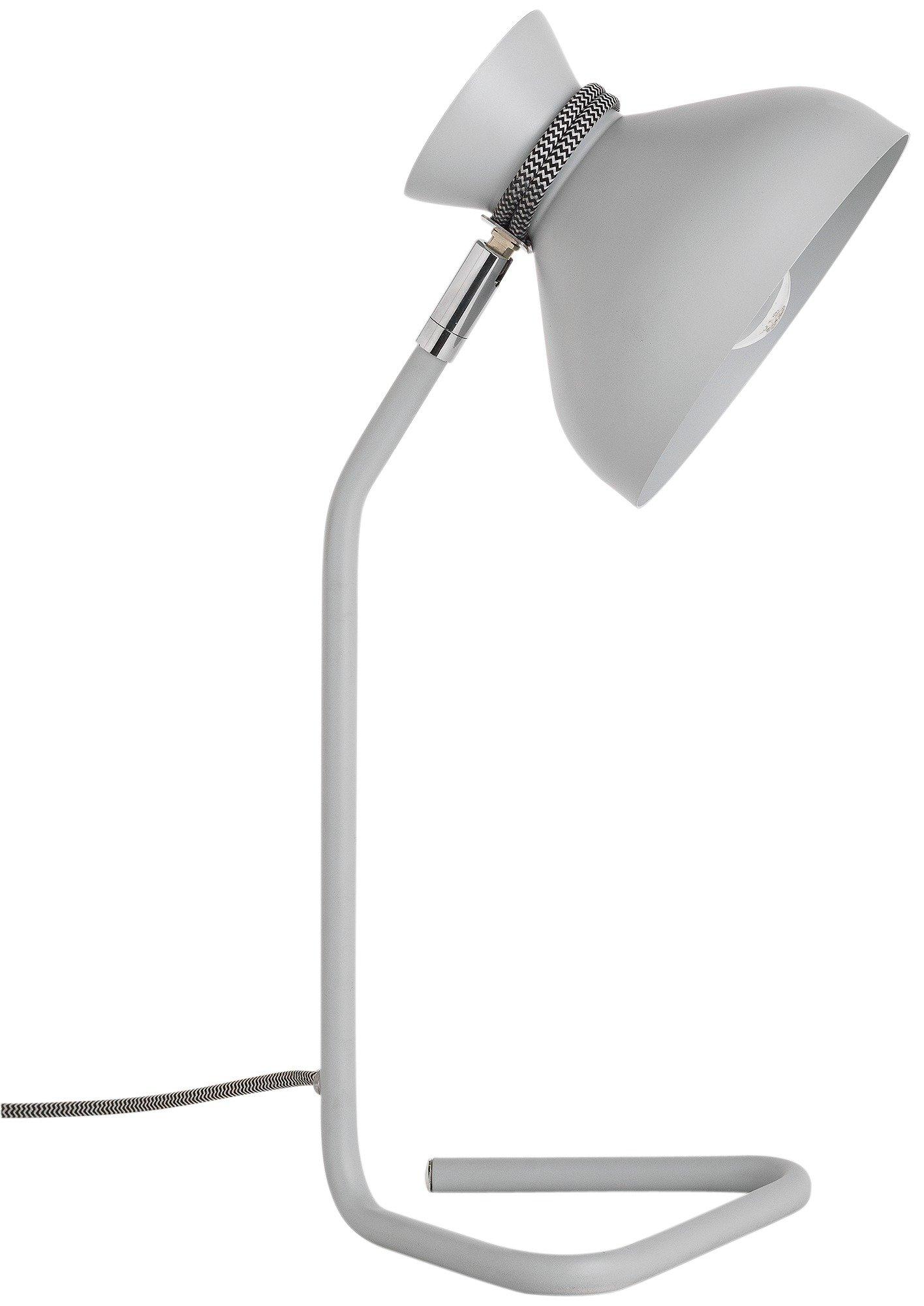 Image of Hygena Pola Table Lamp - Grey