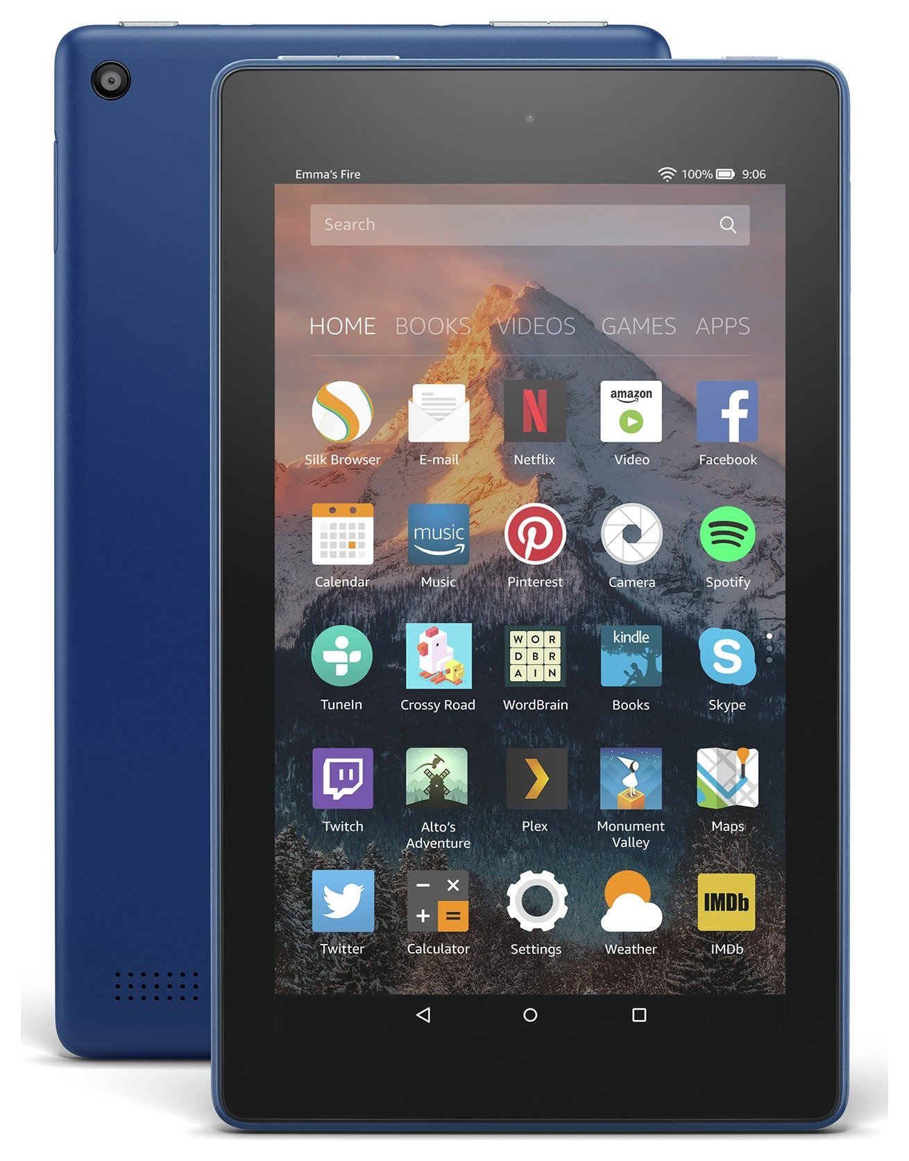 Compare retail prices of Amazon Fire 7 Alexa 7 Inch 16GB Tablet Marine Blue to get the best deal online