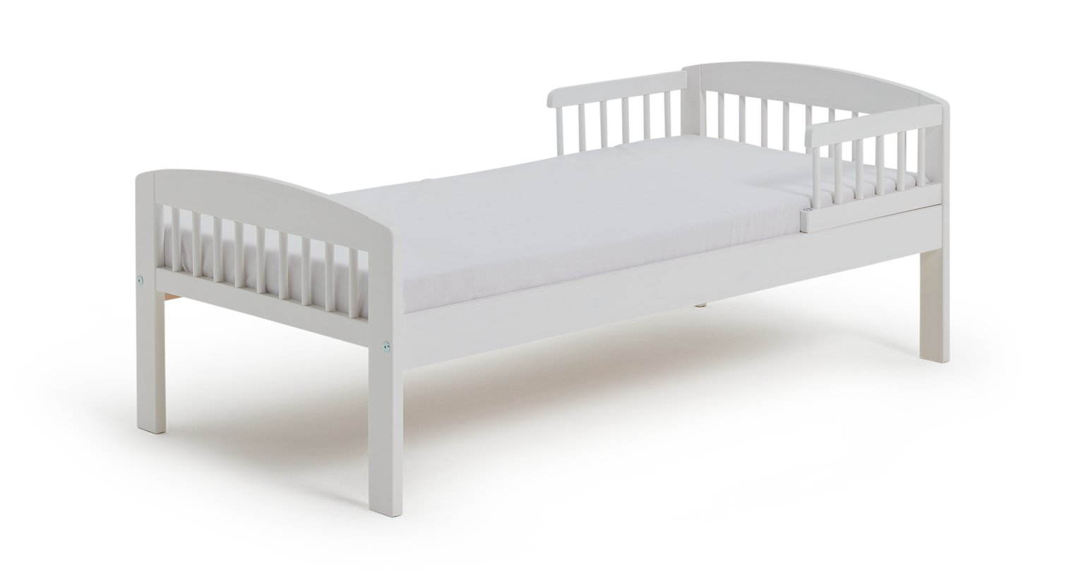 Argos Home Jesse White Toddler Bed Frame