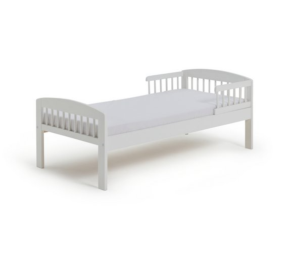 Buy Argos Home Jesse Toddler Bed Frame - White | Kids beds | Argos