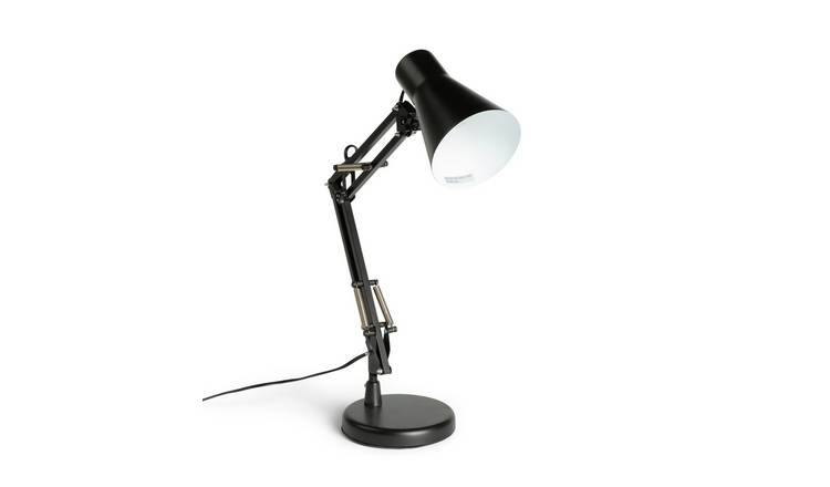 the best attitude 17090 e4b0e Buy Argos Home Swing Arm Desk Lamp - Matt Black | Desk lamps | Argos