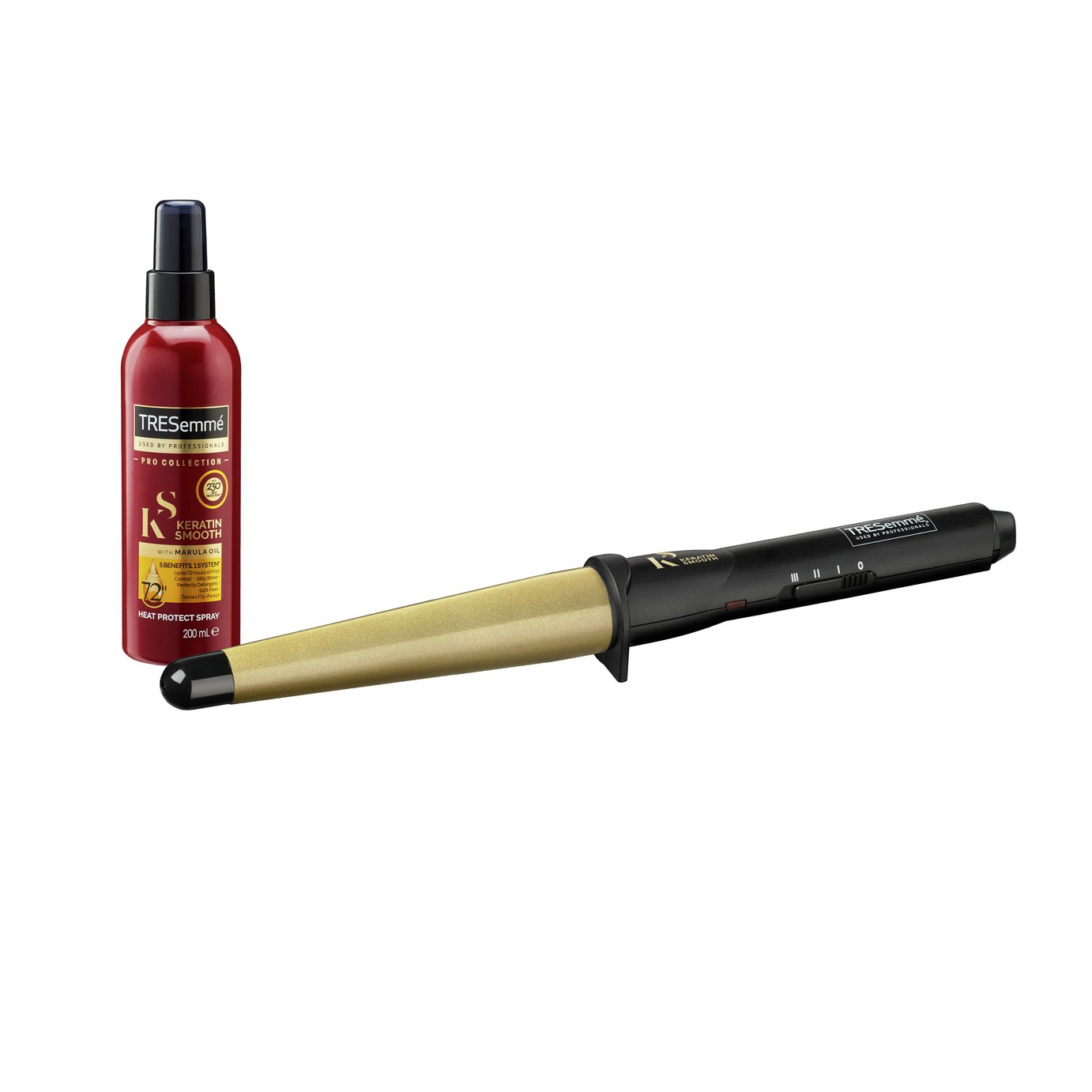 TRESemme 2804CU Keratin Smooth Salon Shine Waves Wand