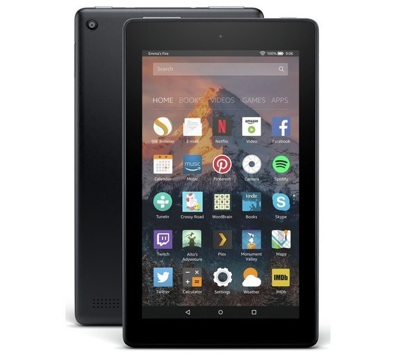 Compare retail prices of Amazon Fire 7 Alexa 7 Inch 8GB Tablet Black to get the best deal online