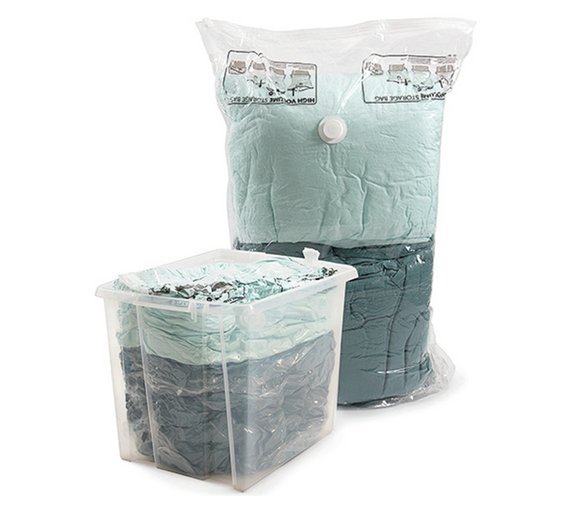 Buy Protect Store Pack Of 2 Extra Large Vacuum Storage Bags At