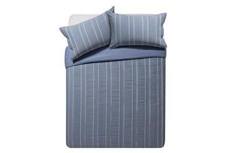 Heart of House Falkirk Stripe Bedding Set - Double