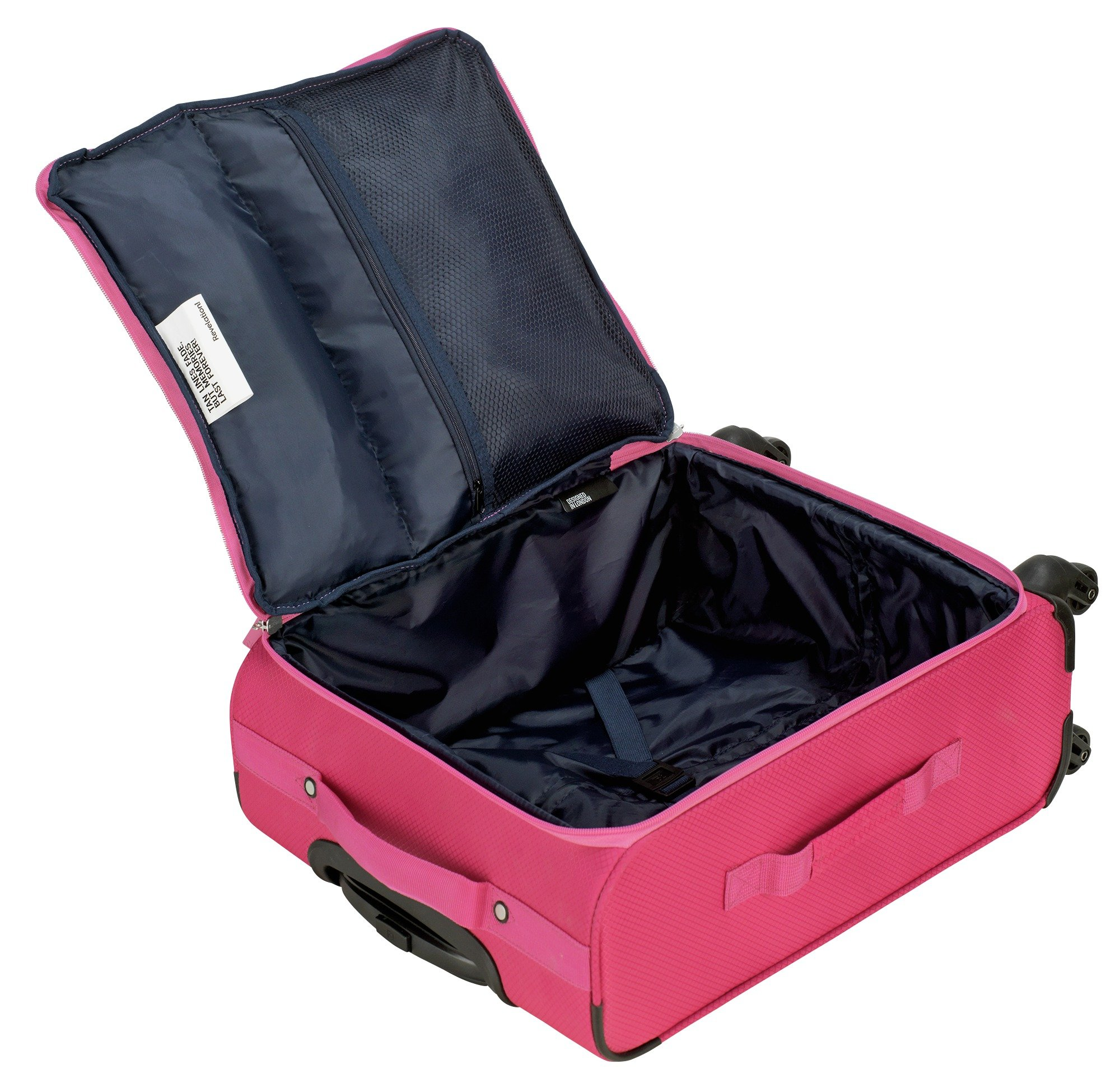 Buy Revelation! Weightless Medium 4 Wheel Soft Suitcase - Pink at ...
