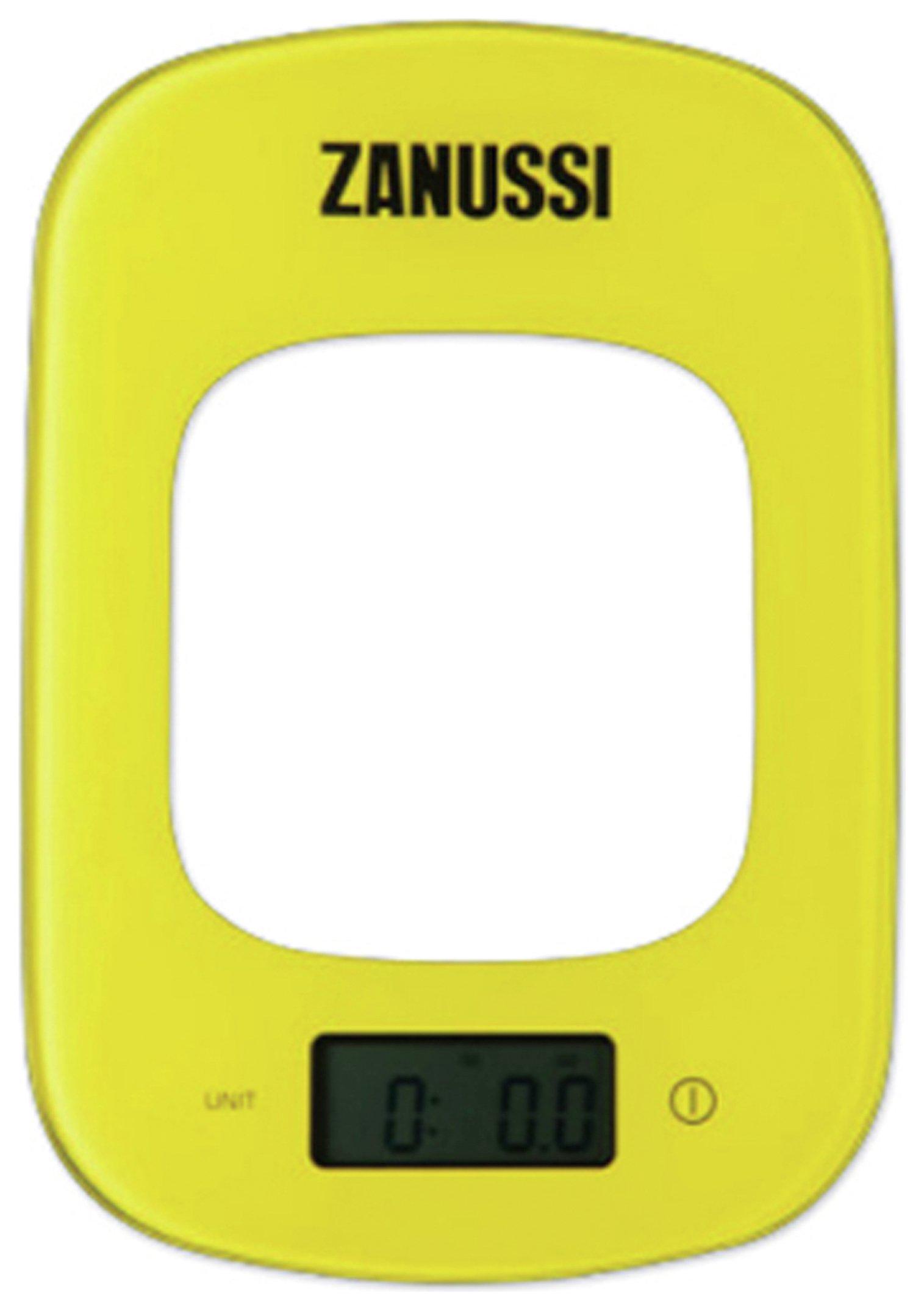 Zanussi Digital Kitchen Scales - Yellow