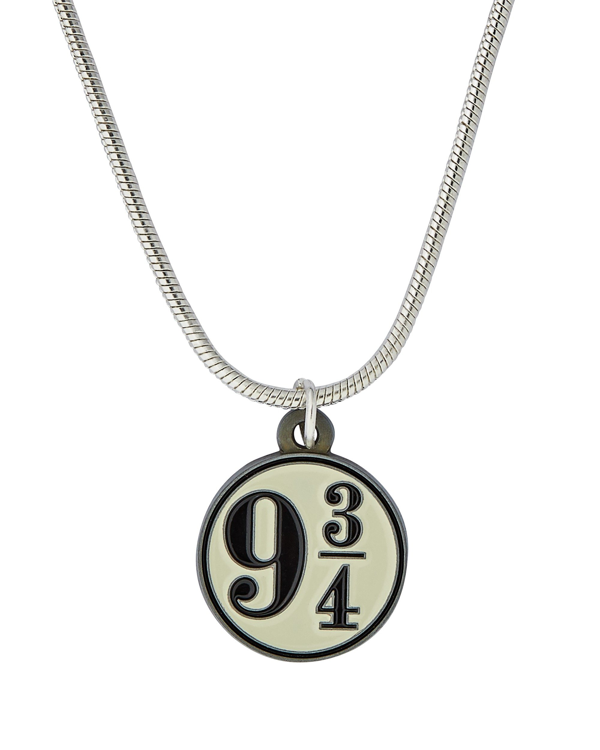 Harry Potter Silver Colour Platform 9 and 3 Quarters Pendant